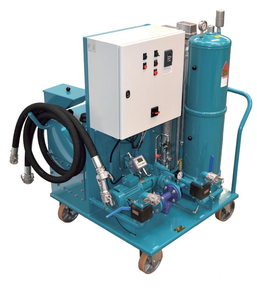 CJC Mobile Flushing Unit, MFU - CC Jensen