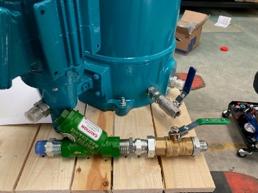 HDU 27 CJC Fine Filter Fittings, Underground Mining Specification