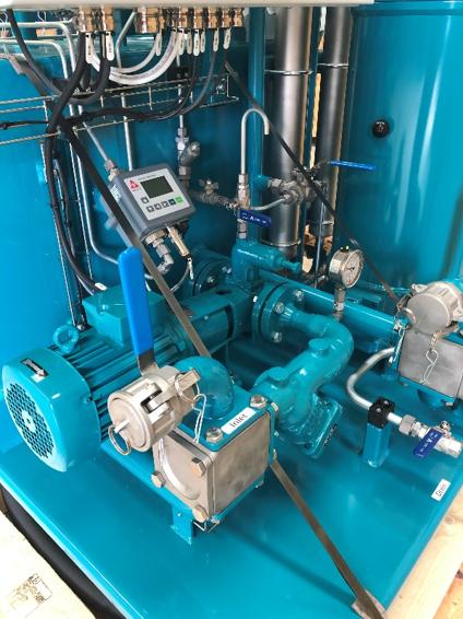 CJC Mobile Flushing Unit, MFU Particle Monitor - CC Jensen