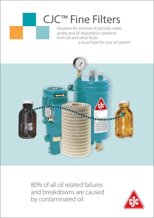 CJC® Fine Filters Brochure